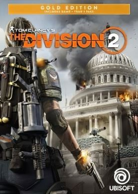 Обложка Tom Clancy's The Division 2