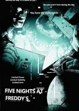 Обложка Five Nights at Freddy's 4