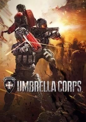 Обложка Biohazard Umbrella Corps