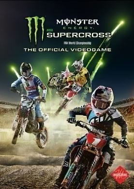 Обложка Monster Energy Supercross The Official Videogame