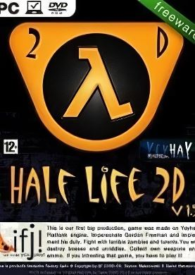 Обложка Half-Life 2D: The Orange Box