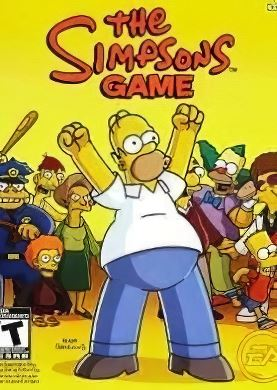 Обложка The Simpsons Game