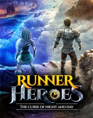 Обложка Runner Heroes: The Curse of Night and Day